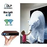 Best Tv proyectores DLP - Mini proyector LED DLP Bluetooth portátil HDMI Wifi Review