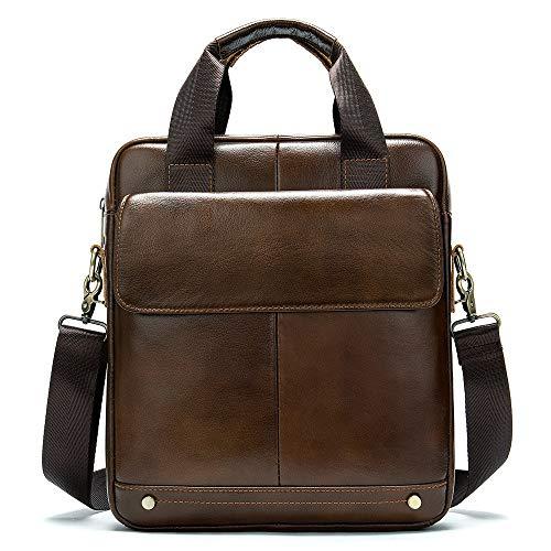 lter Messenger Bag Herren Umhängetasche Umhängetasche Kleine Umhängetasche Aktentasche Business Work Bags Multi-Pocket-Handtasche Handtasche Schultertasche ()