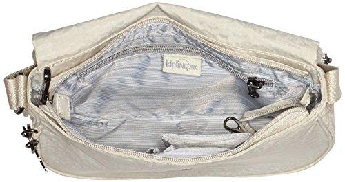 Kipling - Earthbeat S, Borse a tracolla Donna Bianco (White Garden)
