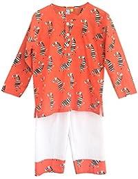 FRANGIPANI Unisex Cotton Pyjama Set