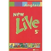 New live, cinquième 2001, manuel de l'élève