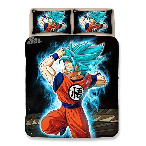 BOYZ Impresión 3D Dragonball Z Goku 3 Piezas Juego