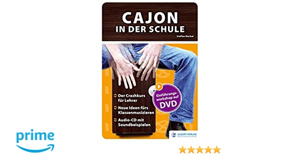 Cajon in der Schule, Heft mit Audio-CD und DVD: Amazon.de: Lugert ...