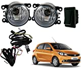 #7: Auto Pearl - Premium Quality Car Fog Lamp Lights with Wiring kit and Switch For - Tata Tiago (Without Plastic Sash Cover)