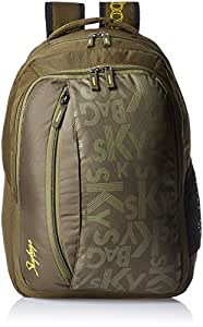 Skybags Router 26 Ltrs Green Casual Backpack (LPBPROU1GRN)