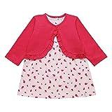 ESPRIT KIDS Baby-Mädchen Bekleidungsset RK36001, Rosa (Light PINK 311), 80