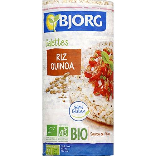 Galettes riz quinoa bio ( Prix unitaire ) - Envoi Rapide Et Soignée