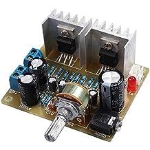 TOOGOO Doble canal TDA2030A Kit DIY amplificador de potencia para Arduino
