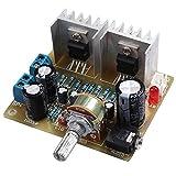 SODIAL Kit d'amplificateur de puissance TDA2030A a double channel pour Arduino