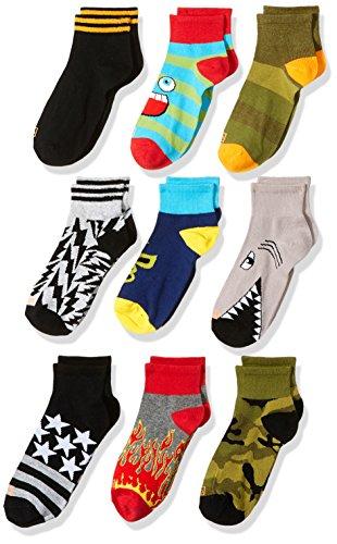 K. Bell Socks Boys' Casual Sock