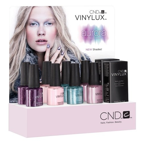 CND Vinylux Aurora Collection - Pop Display 10pc