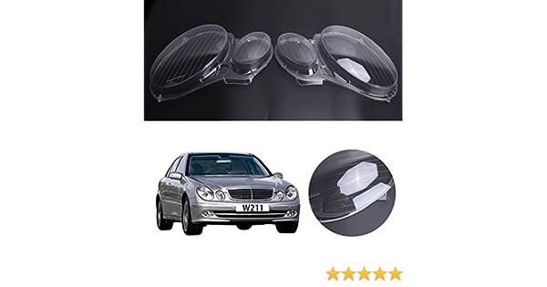 Faro anteriore E320 E350 E280 E300 E500 E550 Plastica Benz W211 Fanale anteriore