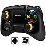 BEBONCOOL Bluetooth Game Controller Gamepad mit verstellbarem Halterung für Android handy / Tablets / TV Box / Gear VR
