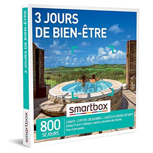 SMARTBOX - Coffret Cadeau Noël Couple - Idée cadeau original : Séjour 3 jours de...
