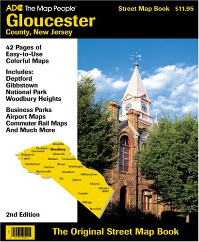 Gloucester County, Nj: Index to Maps (Street Map Books)