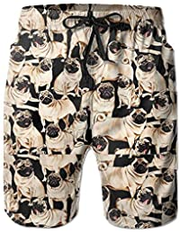 ZKHTO Skull Art Sunshine Cool Men s Bathing Quick Dry Pocket Beach Shorts 41fccc2f595