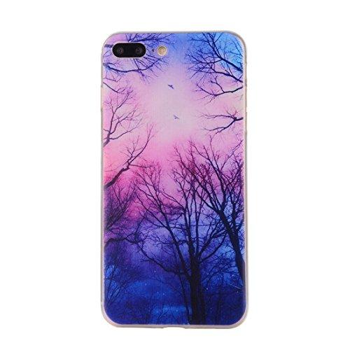 iPhone Case Cover Pour iPhone 7 Plus Dream Catcher motif transparent TPU douce étui de protection arrière ( SKU : Ip7p0096m ) Ip7p0096k