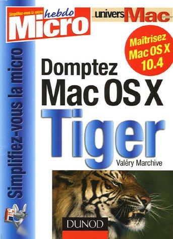 Domptez Mac OS X Tiger