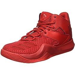 adidas D Rose 773 V, Zapatillas de Baloncesto para Hombre, Rojo (Scarlet/Scarlet/Scarlet), 45 1/3 EU