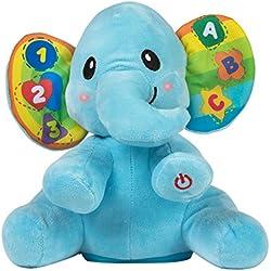 Winfun - Elefante educativo con luz & sonido (ColorBaby 44521)