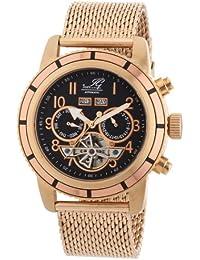 Ingraham Herren-Armbanduhr XL Portland Analog Automatik Edelstahl beschichtet IG PORT.1.223307