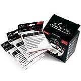 Quiver Time Bustine Protettive per Carte da Gioco (3-Pachi) 300 Buste Trasparenti per Giochi di Carte Collezionabili | Protegge da Graffi e Angoli Piegati / Giochi da tavolo | 300 pezzi