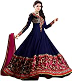 Aarvicouture Women's Readymade Anarkali Suit