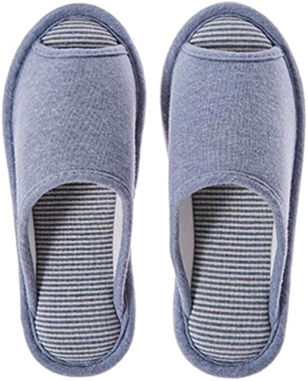 QZHE Pantofole di cotone Pantofole Autunno Inverno Cotone Femminile Coperta Antiscivolo Casa Fondo Morbido Amanti... | Fashionable  | Maschio/Ragazze Scarpa