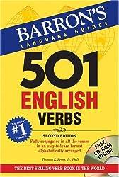 501 English Verbs: with CD-ROM (Barron's 501 English Verbs (W/CD))