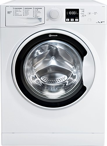Bauknecht WA Soft 7F4 Waschmaschine Frontlader / A+++ / 1400 UpM / 7 kg / langlebiger Motor / Nachlegefunktion…