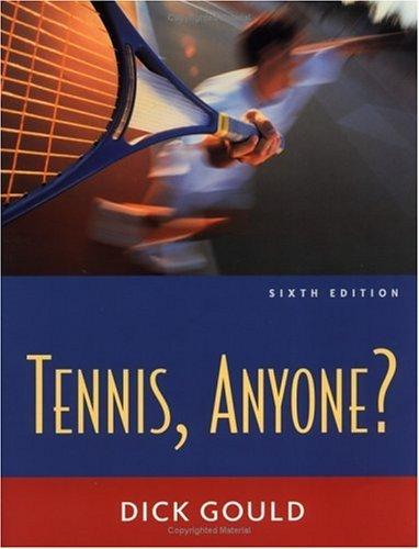 Tennis Anyone? by Richard Gould (1999-07-09) par Richard Gould