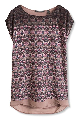 ESPRIT Collection Damen T-Shirt Mehrfarbig (MAUVE 550)
