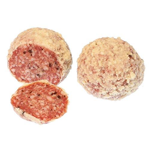 Saltufo ® Salamikugeln mit Sommertrüffeln und Parmigiano-Reggiano 4 Stück ca.520g