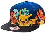 Grupo de carácter oficial Pokemon gradiente Snapback gorra sombrero - un tamaño Pikachu