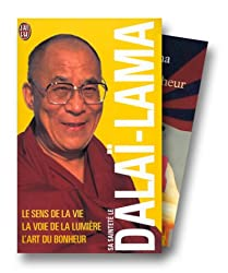 Sa sainteté le Dalaï-Lama : Le Sens de la vie - La Voie de la lumière - L'Art du bonheur, coffret de 3 volumes