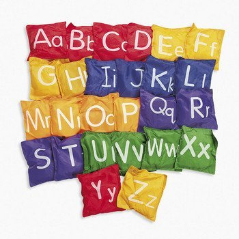 etters Uppercase Lowercase Toss Game by FE ()