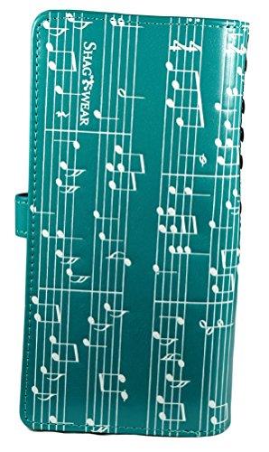Shagwear portafoglio per giovani donne , Large Purse : Diversi colori e design: Sinfonia di piano / Piano Symphany