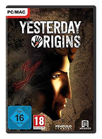 Yesterday Origins [PC/MAC]