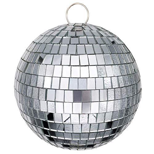 Xinfang Spiegel-Discokugel, ideal für Partys oder DJ-Lichteffekte, 15,2 cm