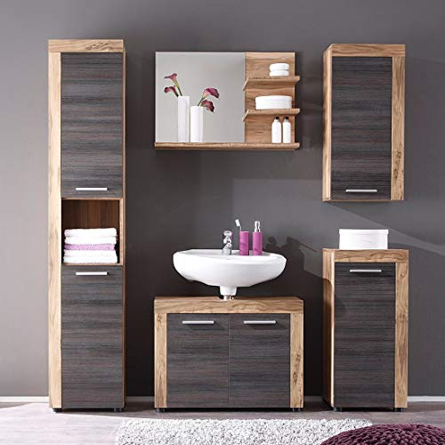 trendteam smart living Badezimmer 5-teilige Set
