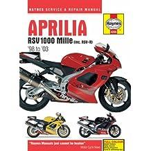 Aprilia RSV 1000 Mille (inc. RSV-R) '98 to '03 (Haynes Service & Repair Manual) by Ken Freund (2007-02-01)