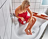 Anti-slip strips for shower and bathtub Transparent Self-adhesive safety prevent accidents
