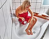Anti-Rutsch Streifen für Dusche und Badewanne Transparent Selbstklebend Sicherheit Unfall