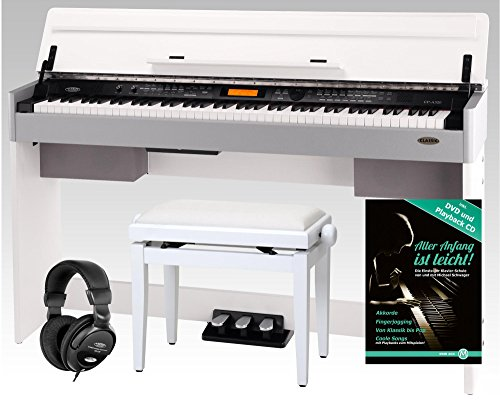 Set de E-Piano Cantabile Classic CP-A 320 WM blanco mate