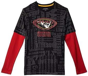 Boys Ctee T Shirt - Black (1000017480006)