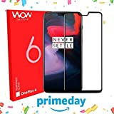 #9: [ PRIME DAY EXCLUSIVE OFFER ] Original Premium OnePlus 6 Tempered Glass - WOW Imagine Premium 5D Full Glue OnePlus 6 Tempered Glass, Full Edge-Edge Screen Protection For 1+6 OnePlus 6 [ SPECIAL PRICE FOR PRIME DAY ]