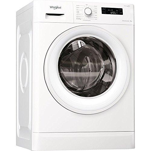 Whirlpool FWF 81284W IT lavatrice Libera installazione Caricamento frontale Bianco 8 kg 1200 Giri/min A+++