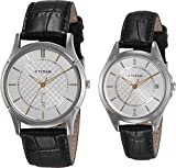 Titan 16362565SL01 Bandhan Analog Couple Watch (16362565SL01)