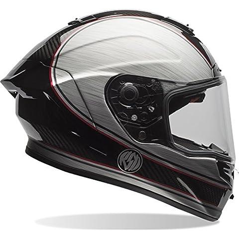 7069718 - Bell Race Star RSD Chief Motorcycle Helmet M Black Silver