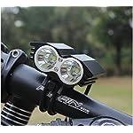 EFUN-Faro-Bicicletta-Anteriore-LED-Luce-luci-per-Bici-Bicicletta-MTBTorcia-da-Testa-Lampada-Frontale-Bici-Faro4-modalit2-LED-Luce-LED-Bici-2-Pezzi-LED-Bici-Posteriore-Bicicletta-in-Silicone